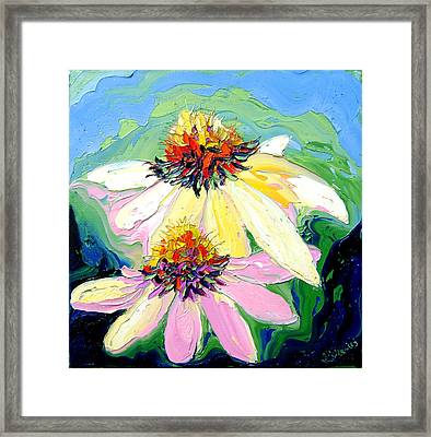 Flowers Framed Print by Isabelle Gervais