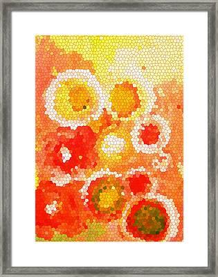 Flowers Iv Framed Print by Patricia Awapara