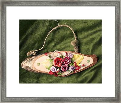 Flowers Framed Print by Lena Levin