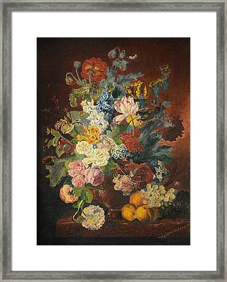 Flowers Of Light Framed Print