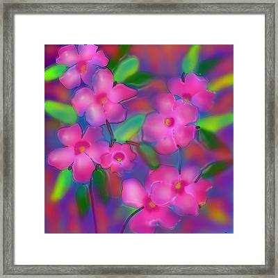 Flowers Of October Framed Print