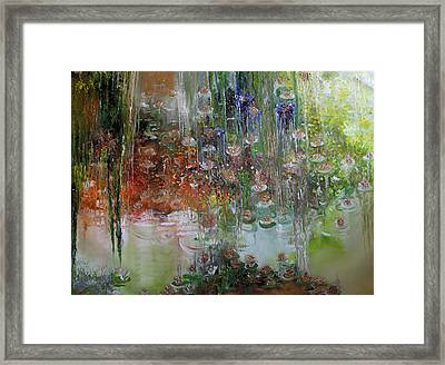 Flowers Of Righteousness - Flores Do Bem Framed Print by Hermes Delicio