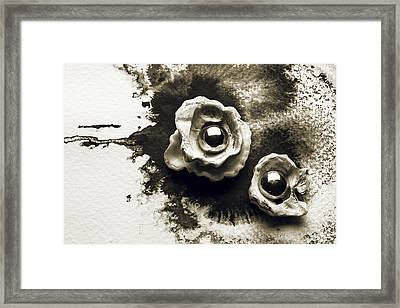 Flowers Of The Ocean Framed Print