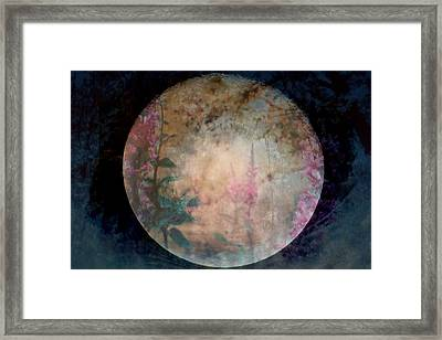 Flowers On The Moon  Framed Print by Rick Todaro