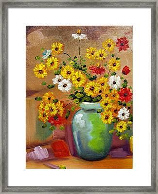Flowers - Still Life Framed Print