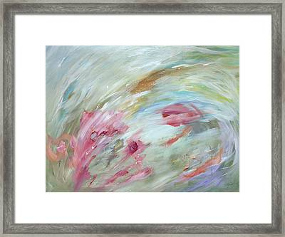 Flowers Framed Print by Tanya Byrd