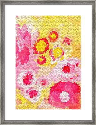 Flowers Vii Framed Print by Patricia Awapara
