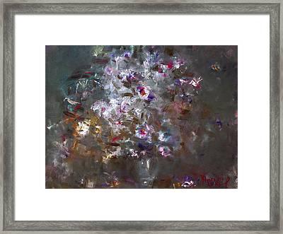 My Flowers Framed Print