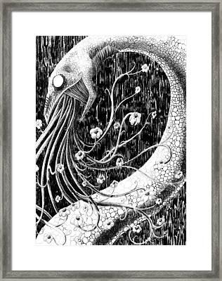 Flowervomit Framed Print by Solange Henson