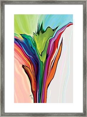 Flowery 5 Framed Print