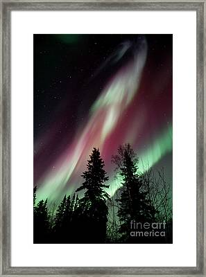 Flowing Colours Framed Print