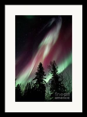 Polarlicht Framed Prints