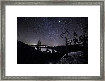 Flowing Dreams Framed Print by Brad Scott