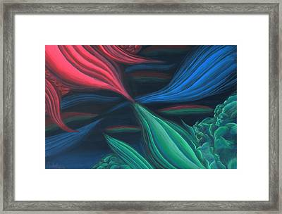 Flowing Harmony Framed Print