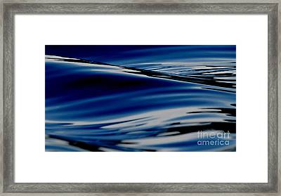 Flowing Movement Framed Print by Janice Westerberg