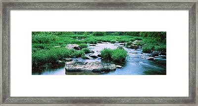 Flowing River, St. Francis River Framed Print by Panoramic Images