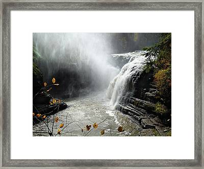 Flowing Tranquility Framed Print by Mike Feraco