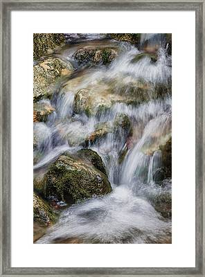 Flowing Waters Framed Print by Diana Boyd