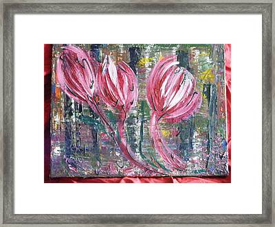 Flowing Wind Framed Print by Kim St Clair