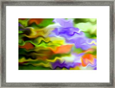 Flowing With Life 1 Framed Print by Angelina Vick