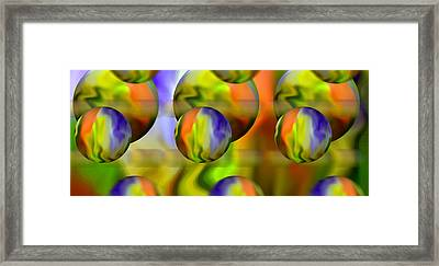 Flowing With Life 10 Framed Print by Angelina Vick