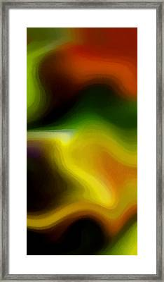 Flowing With Life 12 Framed Print by Angelina Vick