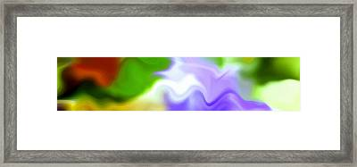Flowing With Life 13 Framed Print by Angelina Vick