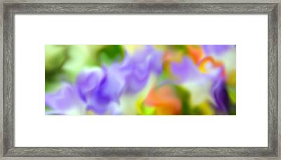 Flowing With Life 15 Framed Print by Angelina Vick