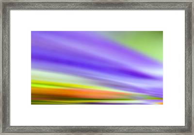 Flowing With Life 18 Framed Print by Angelina Vick