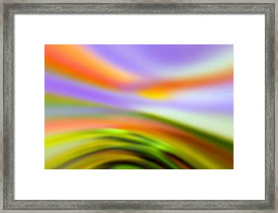 Flowing With Life 19 Framed Print by Angelina Vick