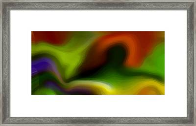 Flowing With Life 2 Framed Print by Angelina Vick