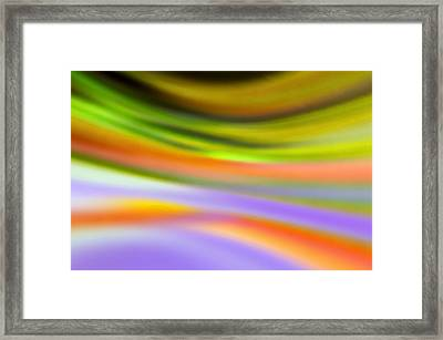 Flowing With Life 20 Framed Print by Angelina Vick