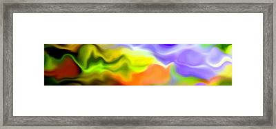 Flowing With Life 4 Framed Print by Angelina Vick