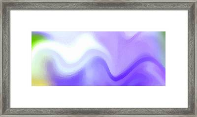 Flowing With Life 9 Framed Print by Angelina Vick