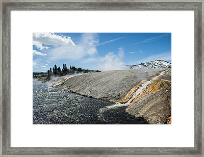 Flows Flowing Framed Print