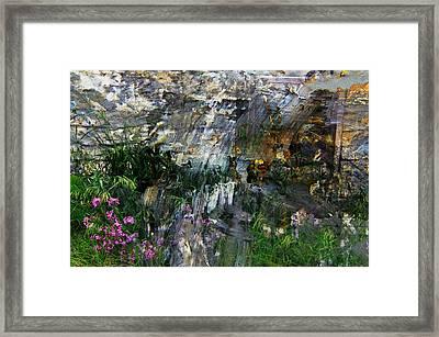 Flox Mosaic Framed Print by Jim Vance