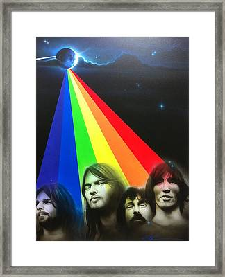 Pink Floyd - ' Floyd ' Framed Print by Christian Chapman Art