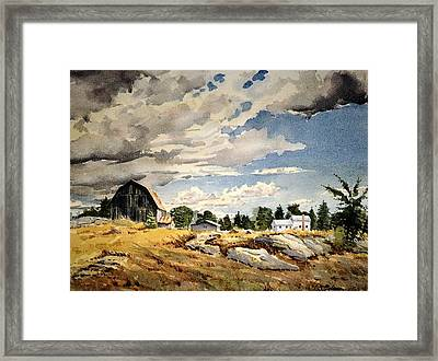 Floyd's Barn No. 2 Framed Print by David Gilmore