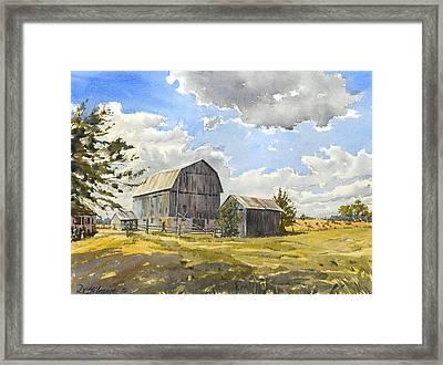 Floyd's Barn No.1 Framed Print by David Gilmore