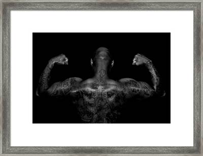 Body Art Framed Print