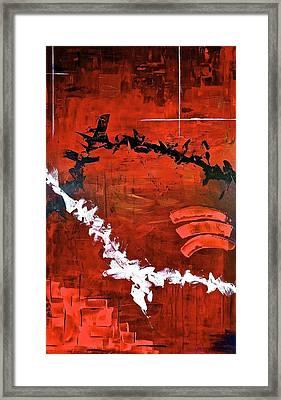 Fluctuation No2 Framed Print by Rob Van Heertum