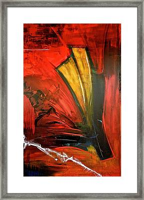 Fluctuation No3 Framed Print