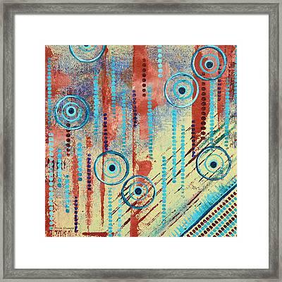 Fluent Framed Print by Moon Stumpp