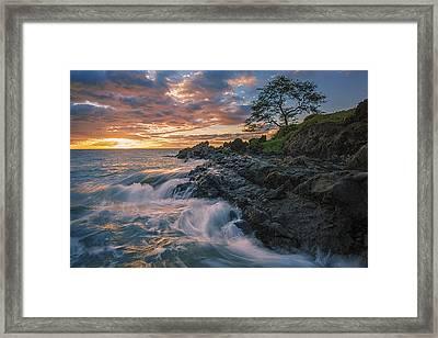 Fluid Motion Framed Print by Hawaii  Fine Art Photography
