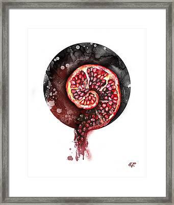Fluidity 11 - Elena Yakubovich Framed Print by Elena Yakubovich