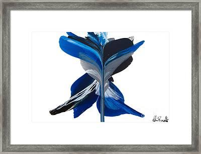 Fluidity - Number 36 Framed Print