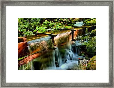 Flume Overflow  Framed Print