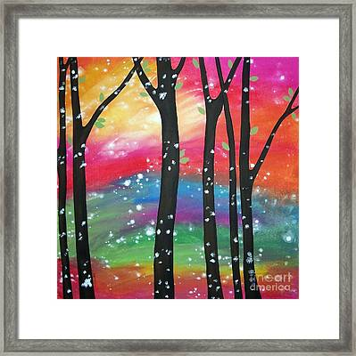 Flurries Framed Print by Karla Gerard