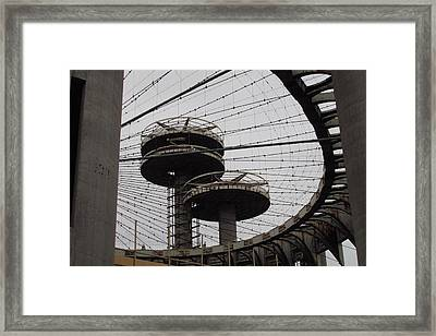 Flushing Meadows - 10 Framed Print