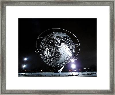 Flushing Meadows - 18 Framed Print